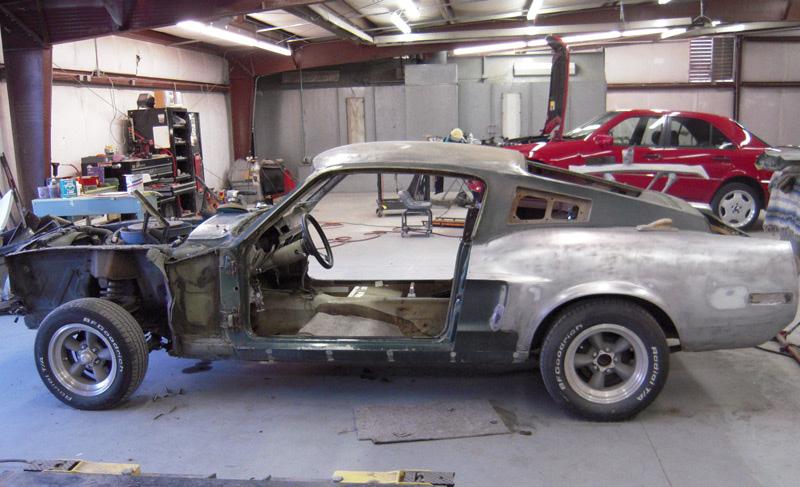 Pacific garage vente restauration de voitures americaines - Garage restauration voiture ...